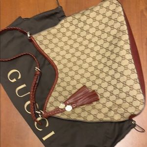 Gucci Marrakech hobo purse